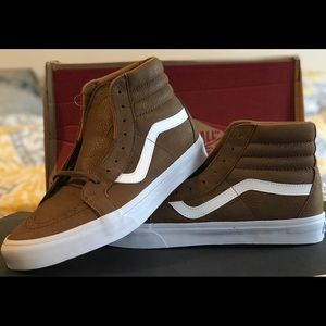 Men's Vans (Premium Leather) Dachshu